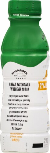 Shamrock Farms 2% Reduced Fat Milk Perspective: left