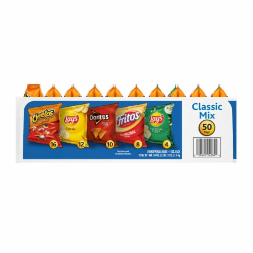 Frito-Lay Classic Mix Variety Pack Perspective: left
