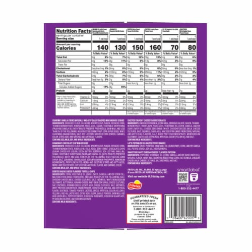 Frito-Lay Snack Time Mix Variety Pack Perspective: left