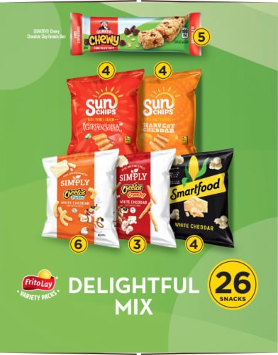Frito-Lay® Delightful Mix Snacks Variety Pack Perspective: left