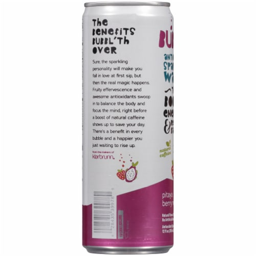 Bubbl'r Pitaya Berry Nect'r Sparkling Water Perspective: left