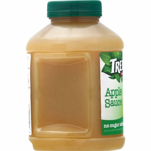 Tree Top No Sugar Added Apple Sauce Perspective: left