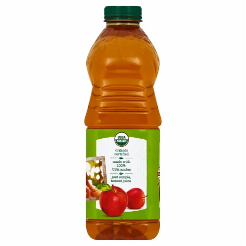 Tree Top Organic Apple Juice Perspective: left