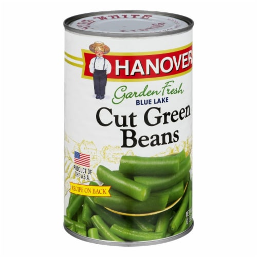 Hanover Garden Fresh Blue Lake Cut Green Beans Perspective: left