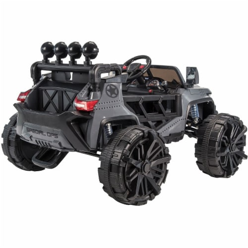 Huffy Special Ops Ride-On Monster Truck - Gray Perspective: left
