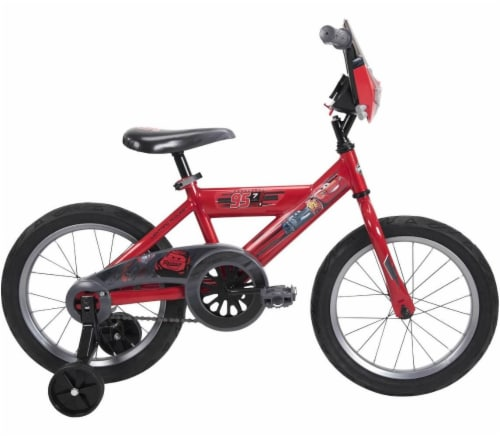 Huffy Disney/Pixar Boys' Cars Bicycle - Flame Red Perspective: left
