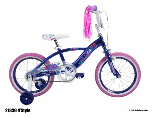 Huffy Girls' N'Style Bicycle - Violet Perspective: left