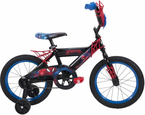 Huffy Marvel Spider-Man Boys' Bicycle - Black Perspective: left