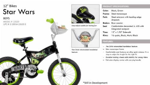 Huffy Star Wars Mandalorian The Child Bike - Black Perspective: left