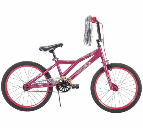 Huffy Glitzy Girls' Bicycle - Strawberry Perspective: left