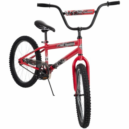 Huffy Pro Thunder Bicycle -  Red/Black Perspective: left