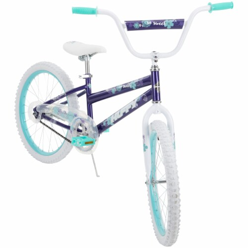 Huffy So Sweet Bicycle - Teal/Purple Perspective: left