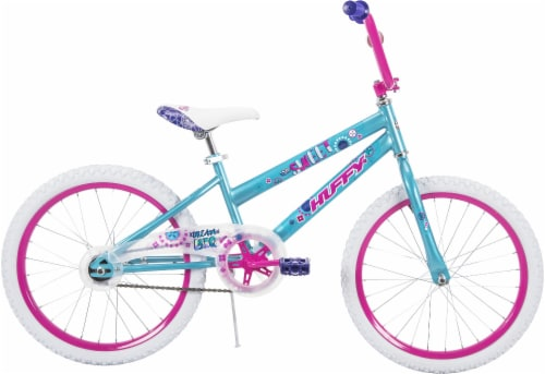 Huffy So Sweet Girls' Bicycle - Metallic Teal/Pink Perspective: left