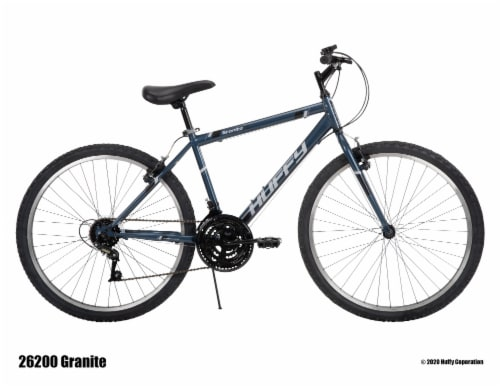 Huffy Mens' Granite Bicycle - Gray Perspective: left