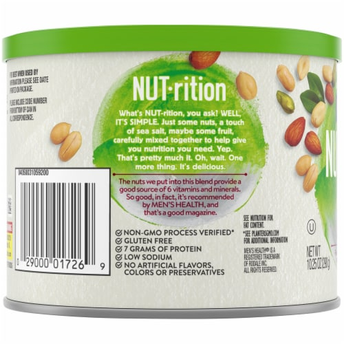 Planters Nut-rition Men's Health Recommended Nut Mix Perspective: left