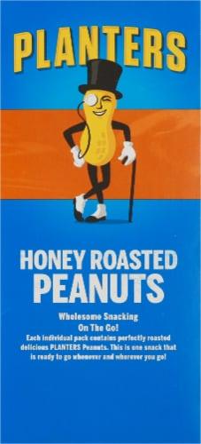 Planters Honey Roasted Peanuts Perspective: left