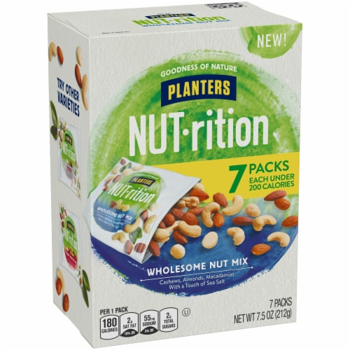 Planters Nut-rition Wholesome Nut Mix Perspective: left