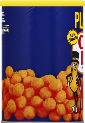 Planters Cheez Balls Cheese Flavored Snack Perspective: left