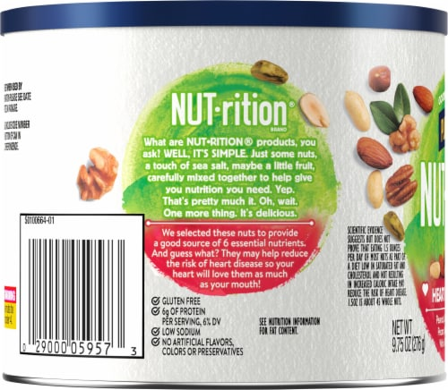 Planters NUT-rition Heart Healthy Mix Perspective: left
