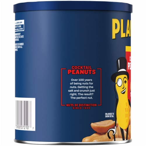 Planters Cocktail Peanuts Perspective: left