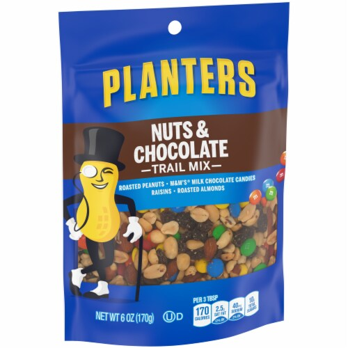 Planters Nut & Chocolate Trail Mix Perspective: left