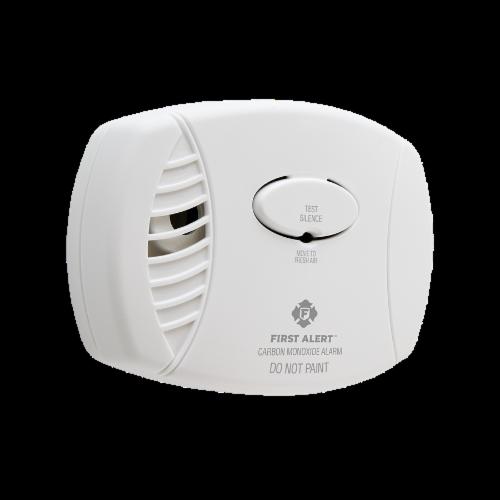First Alert Carbon Monoxide Detector Perspective: left