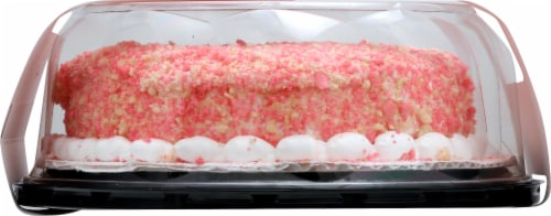 Friendly's Strawberry Krunch Cake Perspective: left