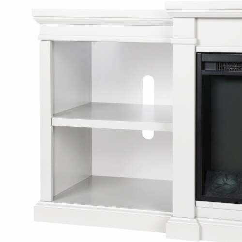 Manchester Electric Fireplace TV Stand for TVs up to 70 , White Perspective: left