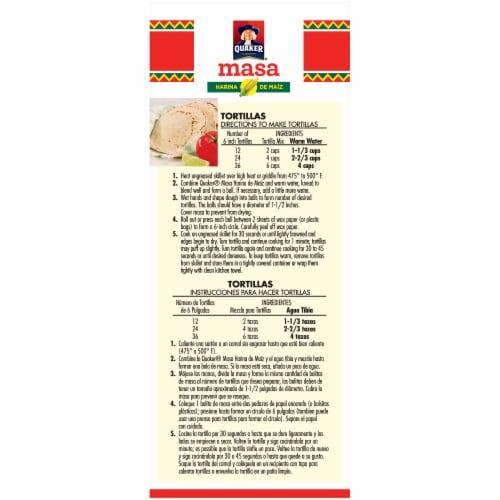 Quaker Corn Tortilla Mix Masa Harina de Maiz Perspective: left