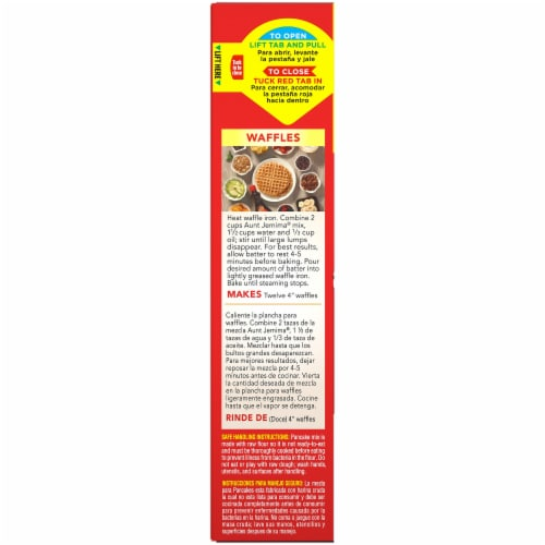 Aunt Jemima Original Complete Pancake and Waffle Mix Perspective: left