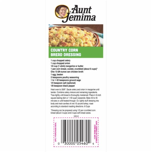 Aunt Jemima Buttermilk Yellow Corn Meal For Baking Perspective: left