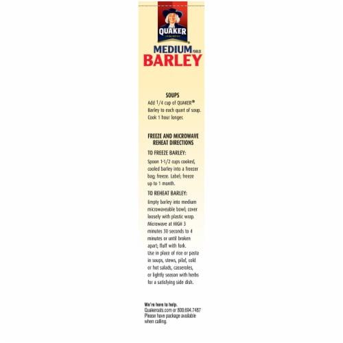 Quaker Scotch Barley Perspective: left