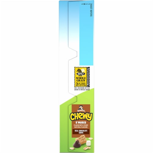 Quaker Chewy S'mores Granola Bars Perspective: left