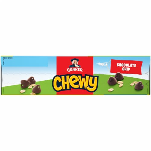 Quaker Chewy Chocolate Chip Granola Bars Value Pack Perspective: left