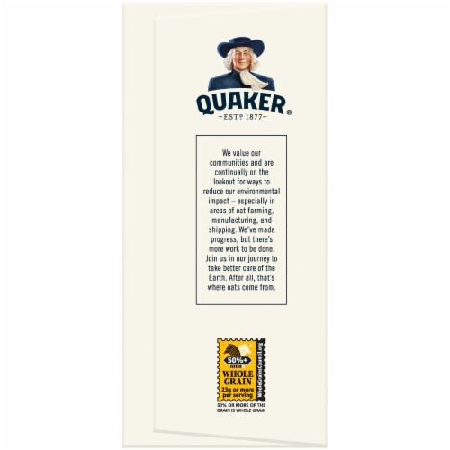 Quaker Baked Squares Apple Cinnamon Soft Baked Breakfast Bars 5 Count Snack Bars Perspective: left