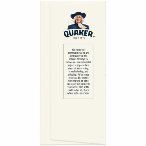 Quaker Baked Squares Peanut Butter Soft Baked Bars Perspective: left