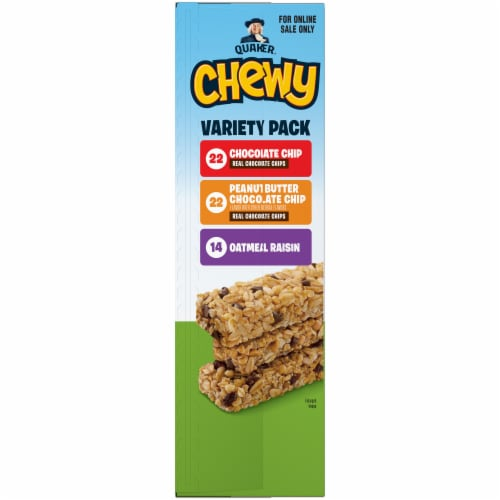 Quaker Chewy Granola Bars Variety Pack Perspective: left