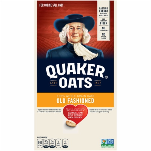 Quaker Old Fashioned Oats Perspective: left