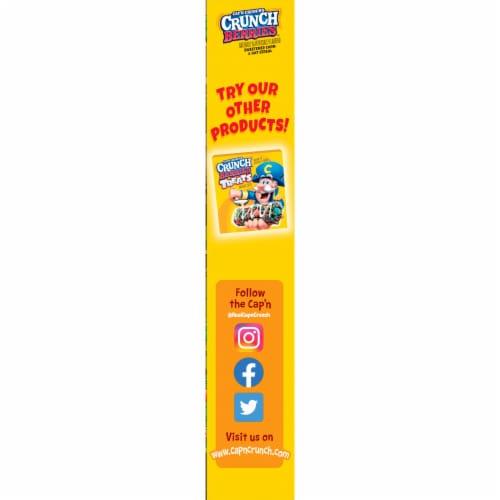 Cap'N Crunch's Crunch Berries® Corn & Oat Cereal Perspective: left