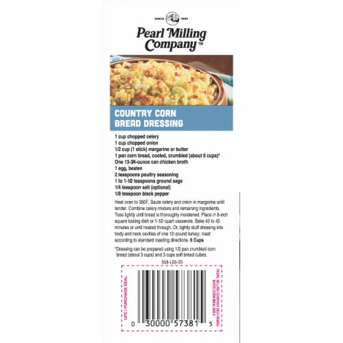 Pearl Milling Company Self-Rising White Corn Meal Mix Perspective: left
