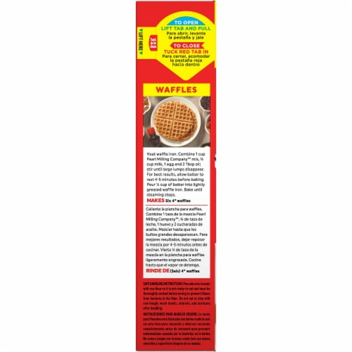 Pearl Milling Company Original Pancake & Waffle Mix Perspective: left
