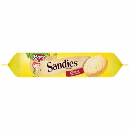 Keebler Sandies Classic Shortbread Cookies Perspective: left