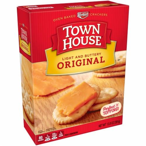 Keebler Town House Original Crackers Perspective: left
