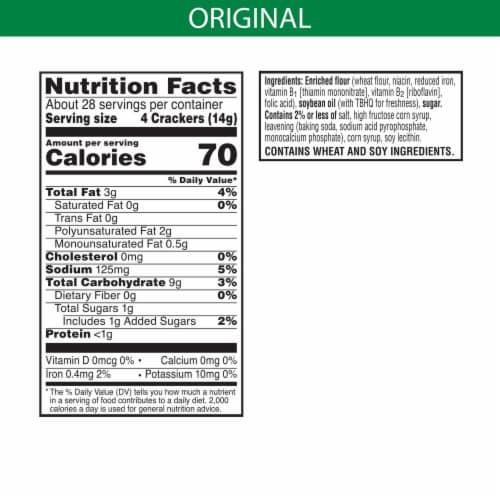 Kellogg's Club Original Crackers Perspective: left