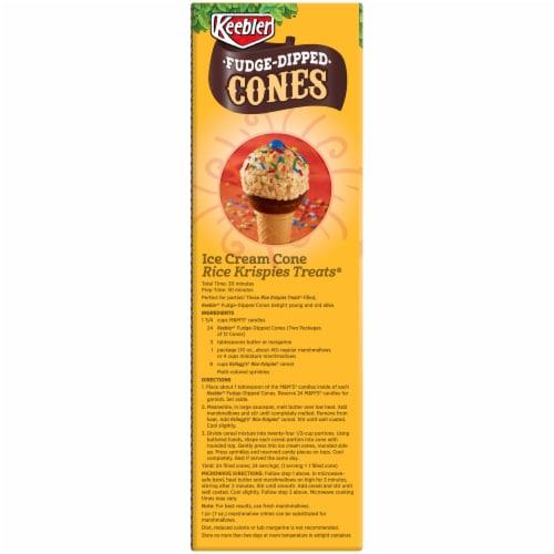 Keebler Fudge Dipped Cones 12 Count Perspective: left
