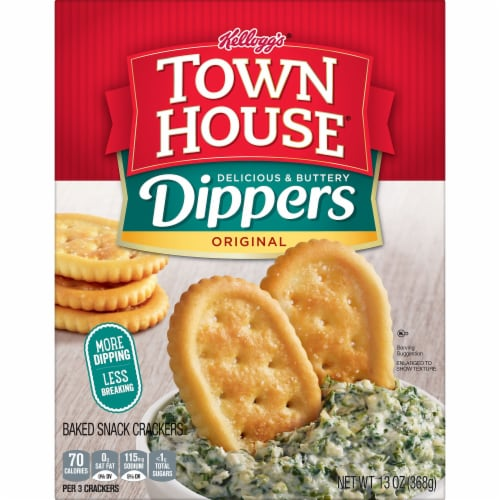 Town House Dippers Original Crackers Perspective: left
