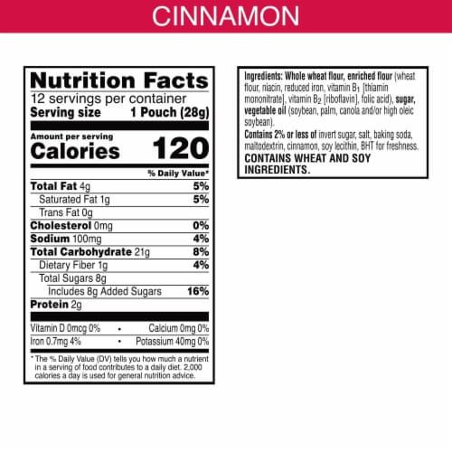 Keebler Scooby-Doo Cinnamon Baked Graham Cracker Sticks 12 Count Perspective: left