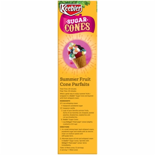 Keebler Sugar Cones Perspective: left