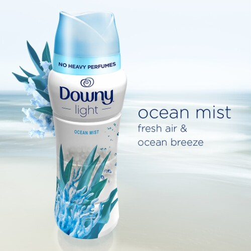 Downy Light Ocean Mist In-Wash Scent Booster Perspective: left