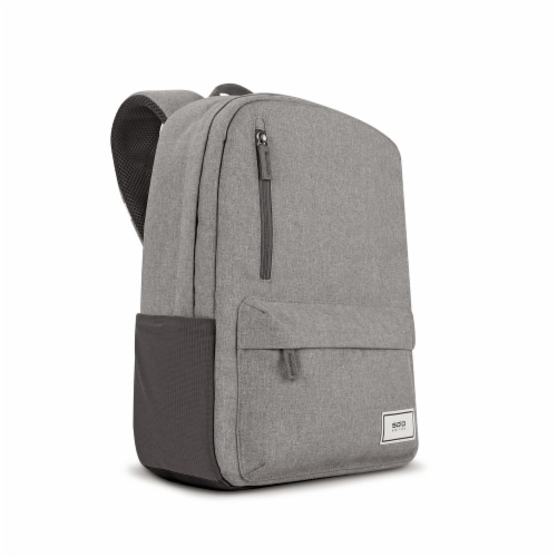 Solo Re:Cover Padded Backpack - Gray Perspective: left